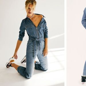 Charlie coverall free people